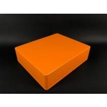 1590XX Style Aluminum Diecast Enclosure MATTE ORANGE