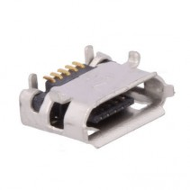 Micro USB 2.0 Type B Female Connector Right Angle