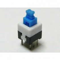 PUSH BUTTON MOMENTARY SWITCH DC 30V 0.1A DPDT 7x7mm