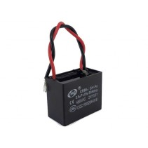CBB61 Fan Capacitor 3.5uF 5% 450VAC 50/60Hz with Wire leads