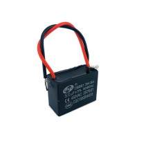 CBB61 Fan Capacitor 3.0uF 5% 450VAC 50/60Hz with Wire leads