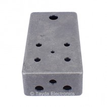 LIGHT SKY BLUE Drilled Enclosure for PedalPCB 4 Knob Type 1