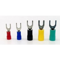 Y Type Crimp Terminal Red Size 0.5mm² to 1.5mm²