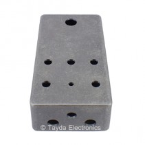 MATTE DARK GRAY Drilled Enclosure for PedalPCB 5 Knob Type 1