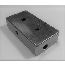 TYPE 1 DRILLED 1590B WHITE ENCLOSURE