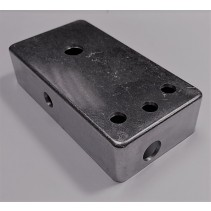 TYPE 3 DRILLED 1590B WHITE ENCLOSURE