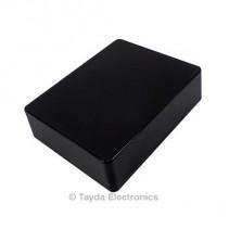 1590BB Style Aluminum Diecast Enclosure Black