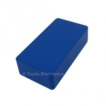 125B Style Aluminum Diecast Enclosure Blue