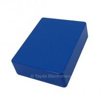 1590BB Style Aluminum Diecast Enclosure Blue