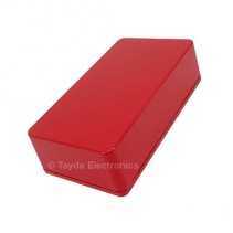125B Style Aluminum Diecast Enclosure Red
