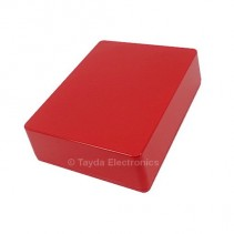 1590BB Style Aluminum Diecast Enclosure Red