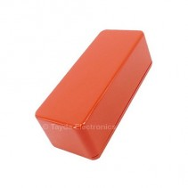 1590A Style Aluminum Diecast Enclosure Burnt Orange