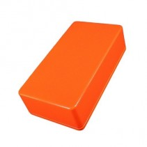 125B Style Aluminum Diecast Enclosure Glowing Orange