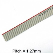 14 Conductor AWG 28 Flat Ribbon Cable 1FT (30cm)