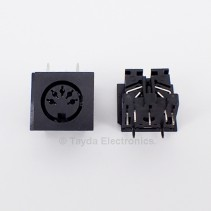 5 Pin MIDI Connector Female Right Angle