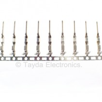 Male Dupont Terminal Connector Pins Crimp 2.54 MM