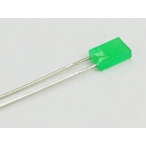 LED Rectangular Green 2x5mm