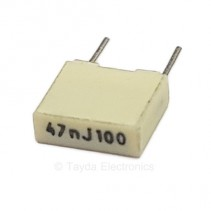 0.047uF 47nF 100V 5% Polyester Film Box Type Capacitor