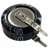 EECS5R5V105 Electric Double Layer Capacitors 1F 5.5V 70C DIA 19.0mm PANASONIC SG SERIES