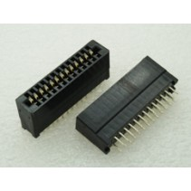 Edge Card Connector 26 Pins 2.54mm Dip Solder Type Without Ears