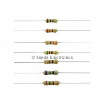 15 OHM 1W 5% Carbon Film Resistor