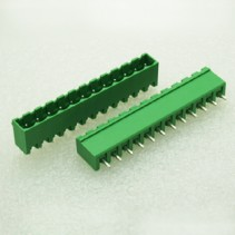 12 Pin Male Plug-In Type Terminal Block 5mm 5EHDVC