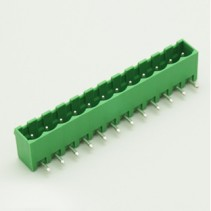12 Pin Male Plug-In Type Vertical Terminal Block 5mm 5EHDRC