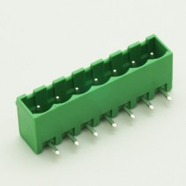 7 Pin Male Plug-In Type Vertical Terminal Block 5mm Side Close 5EHDRC