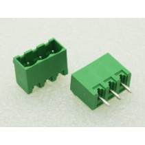 3 Pin Male Plug-In Type Terminal Block 5mm Side Close 5EHDVC
