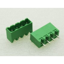 4 Pin Male Plug-In Type Terminal Block 5mm Side Close 5EHDVC