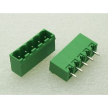 5 Pin Male Plug-In Type Terminal Block 5mm Side Close 5EHDVC