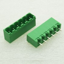 6 Pin Male Plug-In Type Terminal Block 5mm Side Close 5EHDVC