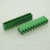 10 Pin Male Plug-In Type Terminal Block 5mm 5EHDVC