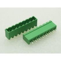 8 Pin Male Plug-In Type Terminal Block 5mm 5EHDRC