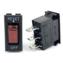 Thermal Overload Circuit Breaker 20A 125/250VAC