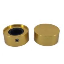 KN2310 Yellow Foot Switch Aluminium Knob 23x10mm