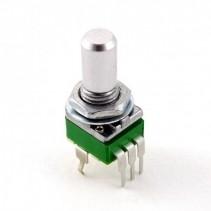 C10K OHM Anti-Log Taper Potentiometer Round Shaft PCB 9mm
