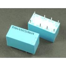 Mini Relay DPDT RY-12W-K-UL 12VDC 8PIN 2Poles 1A