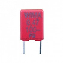 470nF 0.47uF 100V 10% Polyester Film Box Type Capacitor WIMA MKS2