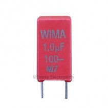 1uF 100V 10% Polyester Film Box Type Capacitor WIMA MKS2