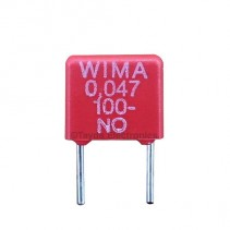 47nF 0.047uF 100V 10% Polyester Film Box Type Capacitor WIMA MKS2
