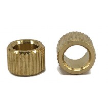 "Brass Knob Inserts for 1/4"" 6.4mm"