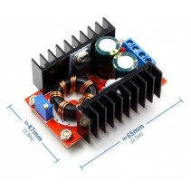150W DC-DC Boost Converter 10-32V In to 12-35V Out 6A Step Up Voltage Charger Module