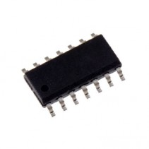 74HCT125 SN74HCT125DR 74125 Quad Bus Buffer Gates Tri-State IC SOIC-14