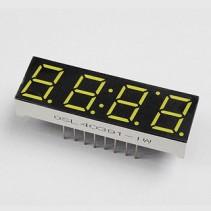 LED Display 7 Segment 4 Digit 0.39 inch Common Anode White 65000ucd