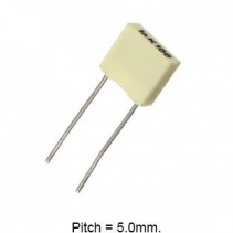 0.1uF 100nF 63V 5% Polyester Film Box Type Capacitor