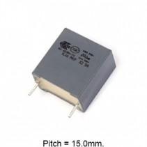 0.22uF 275V 110C 20% Metallized Polypropylene Film Capacitor