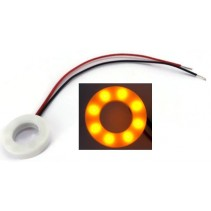 12mm Indicator Lamp Yellow Color 5-12V