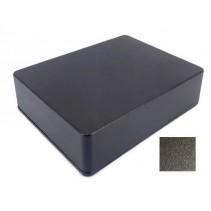1590XX Style Aluminum Diecast Enclosure Matte Black Sand Texture