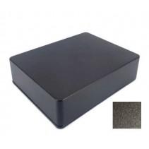 1590BB Style Aluminum Diecast Enclosure Matte Black Sand Texture
